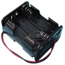 Back to Back Plastic 9v Battery Compartment 6 Aa Cell Battery Holders Box
