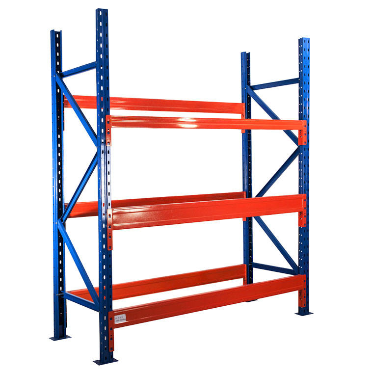 Customized 3 layer steel plate warehouse heavy Duty storage Rack Pallet Racking System metal Industrial storage shelves