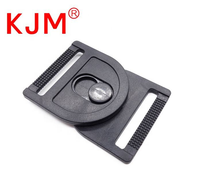 High Quality POM Plastic Strap Belt Front Release Buckle Swing Head Swivel Buckle for Luggage