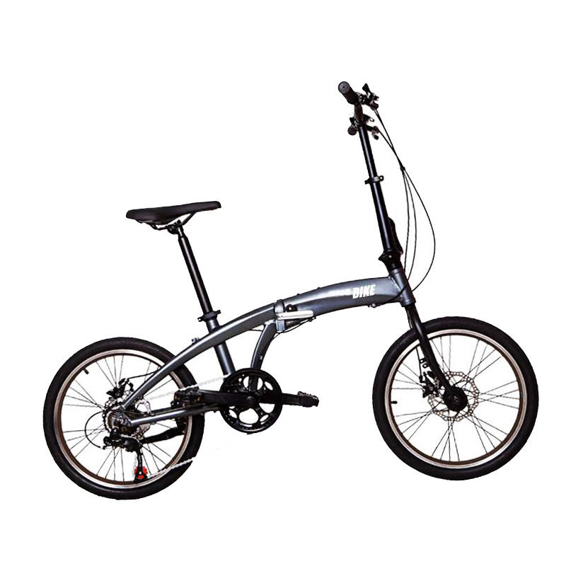 20 inches carbon al alloy frame portable 6 speed folding bike mini light weight black fold up bike best cheap foldable bike/