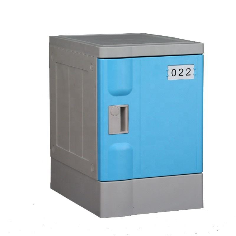 School Bidding for Recyclable Safety ABS Plastic Bookcase Locker