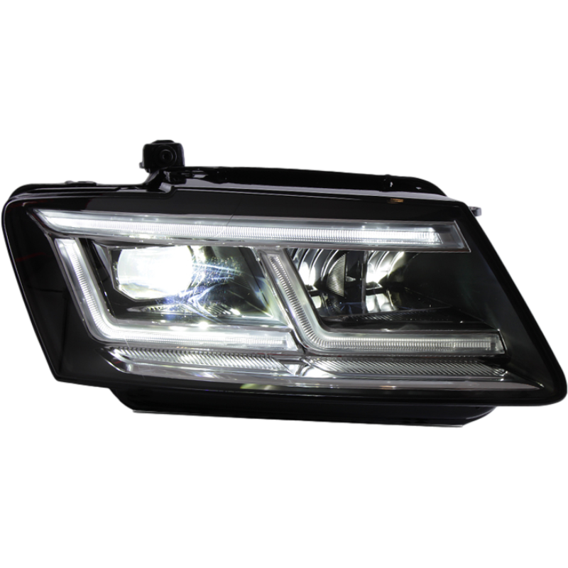 High quality Full LED upgrade Headlight headlamp auto lighting system for Audi Q5 2010 to 2017 Assembly head light lamp