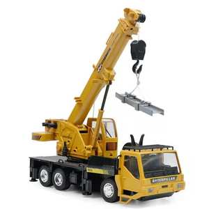 1:24 rechargeable remote control lift-and-lift simulation engineering truck crane crane children's toy model