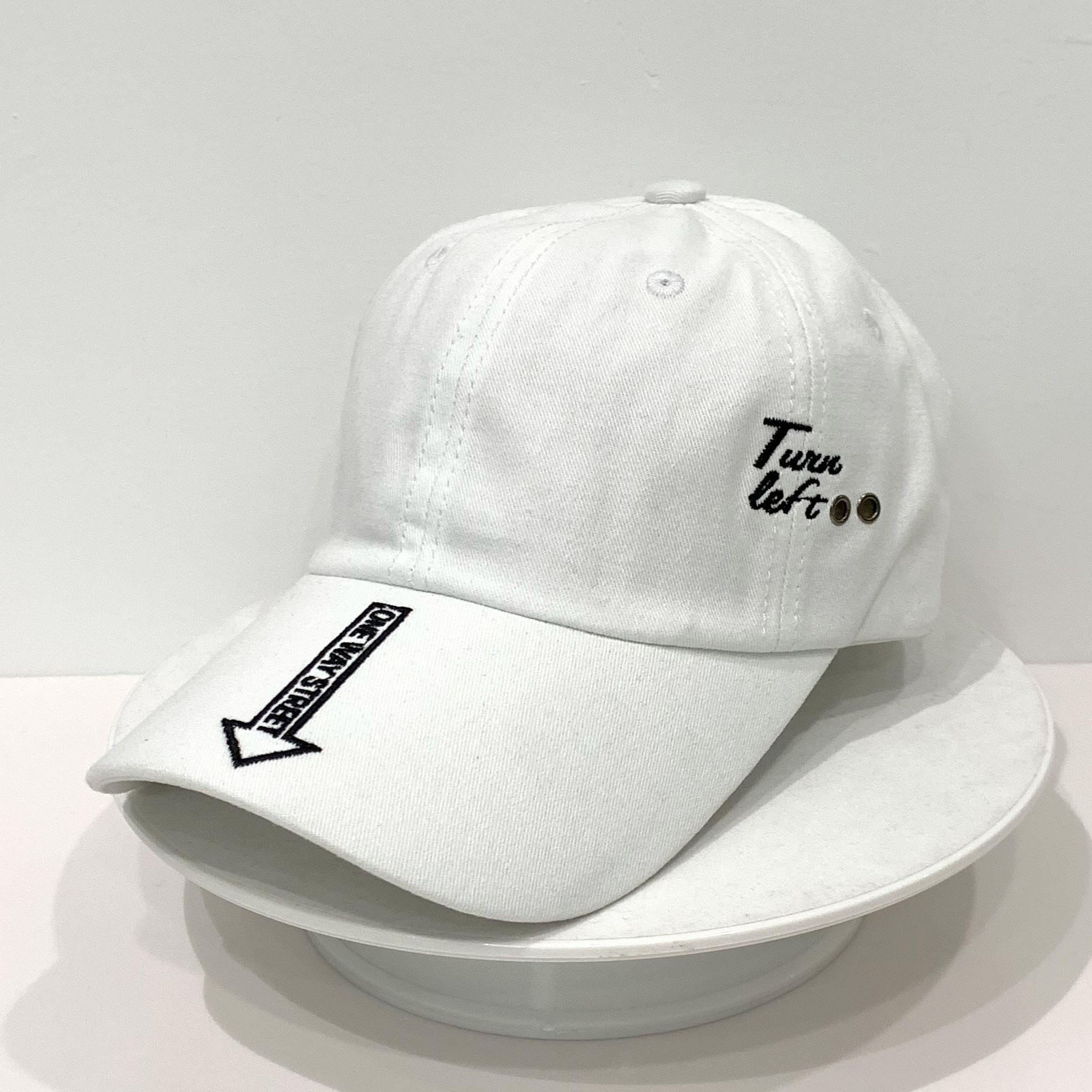 MOQ 1pc in stock white baseball hat cap wholesale custom la hats baseball