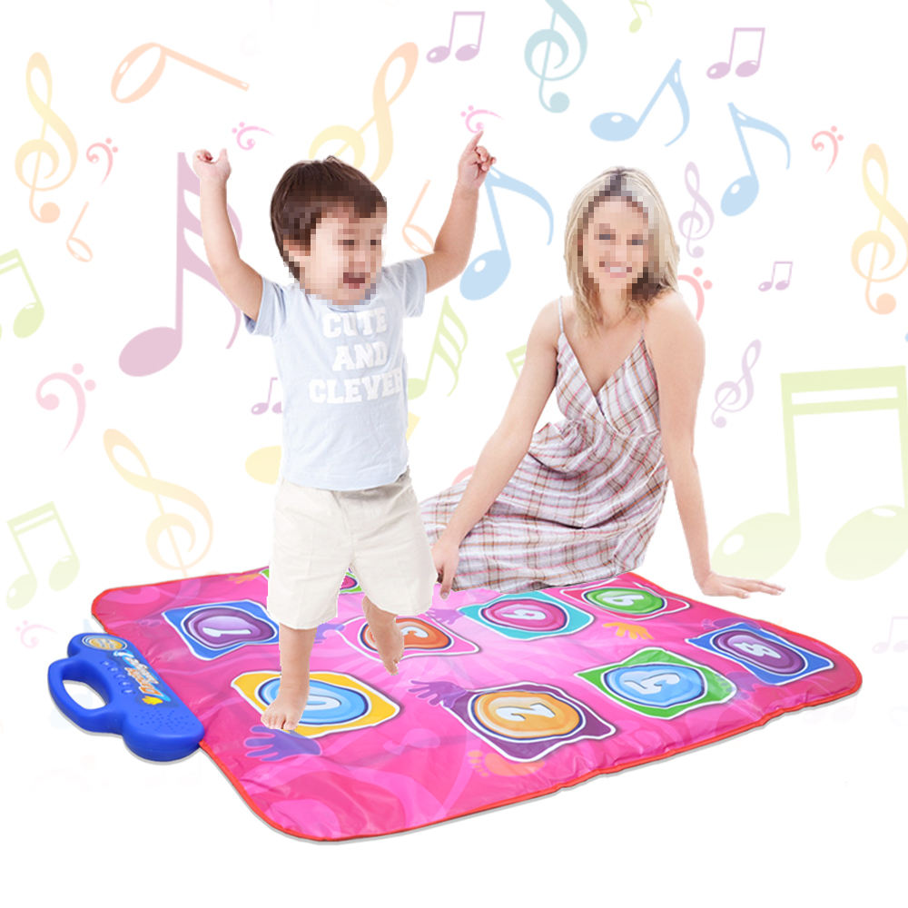 chorus mat kids gaming 9 Blinking Lights Competition up to Level 5 ELECTRONIC touch sensitive Dancing Challenge Mat #ELB-MN1