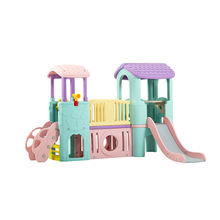 HDPE Kids cheap plastic slide in kindergarten and preschool used