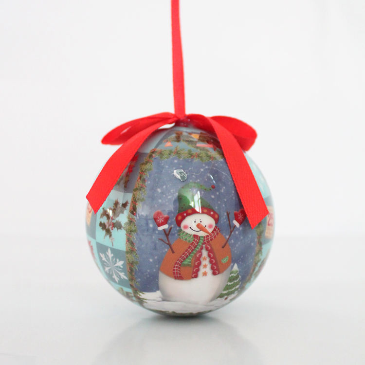 2020 Top sale 7cm diameter christmas baubles