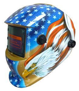Blue Eagle Grinding Auto Darkening Safety Welding Helmet Mask Decals