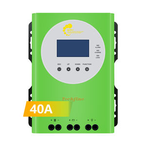 40A MPPT Wall Mount Smart Solar Inverter Controller MPPT 40A 60A Solar Panel Regulator Charge Controller for Solar System
