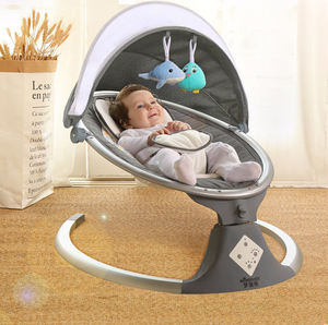 Multifunction Cute High Quality Baby Crib Cot Travel Bed Electric Baby Cot Automatic Cradle Swing Baby
