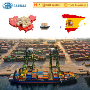 express air sea freight forwarder Door to door delivery service courier from China to Spain
