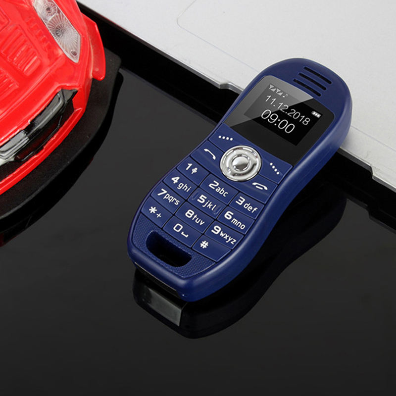 Fuente de la fábrica Dual SIM pantalla OLED Bluetooth teléfono creativa Bar Mini teléfono