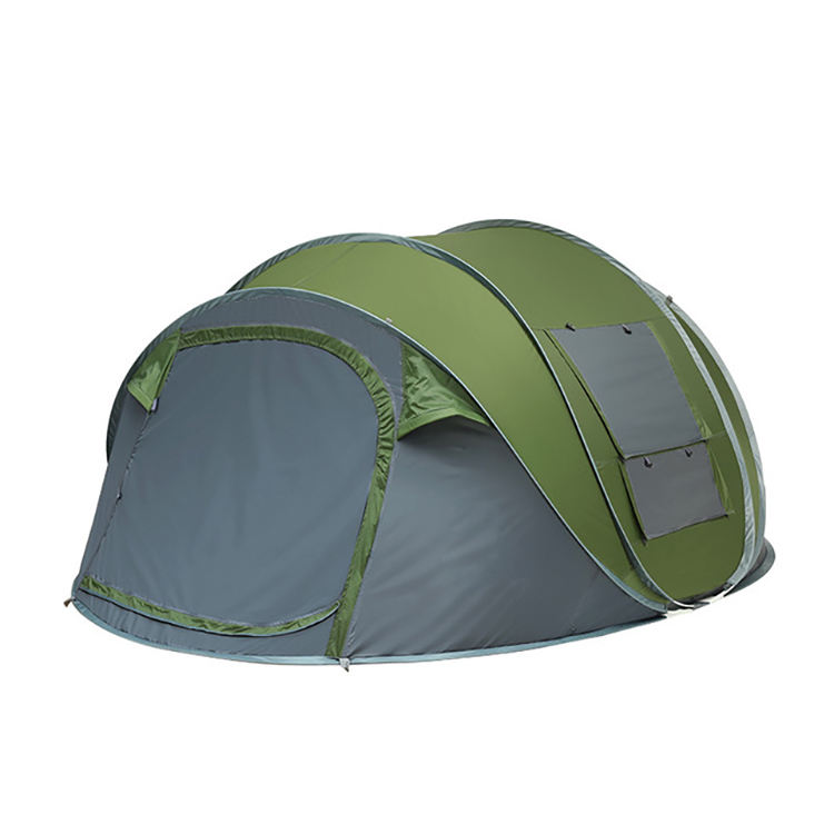 FunFishing OEM new 3-4 people quick open account automatic tent camping outdoor suppliers tent