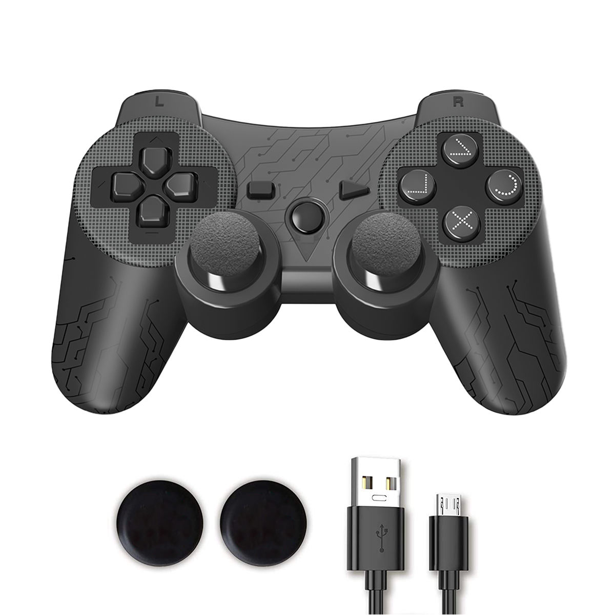 new style joystick with Color button Double shock 3 for ps3 wireless game controller