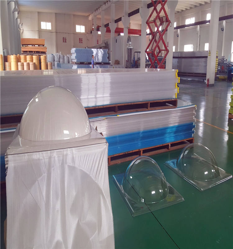 Dome Polycarbonate Sheet Skylight