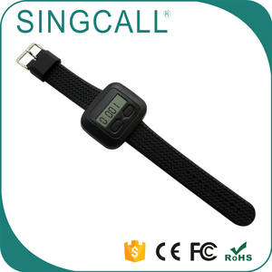 SINGCALL Vibrator Watch Call Receiver Remote Paging System