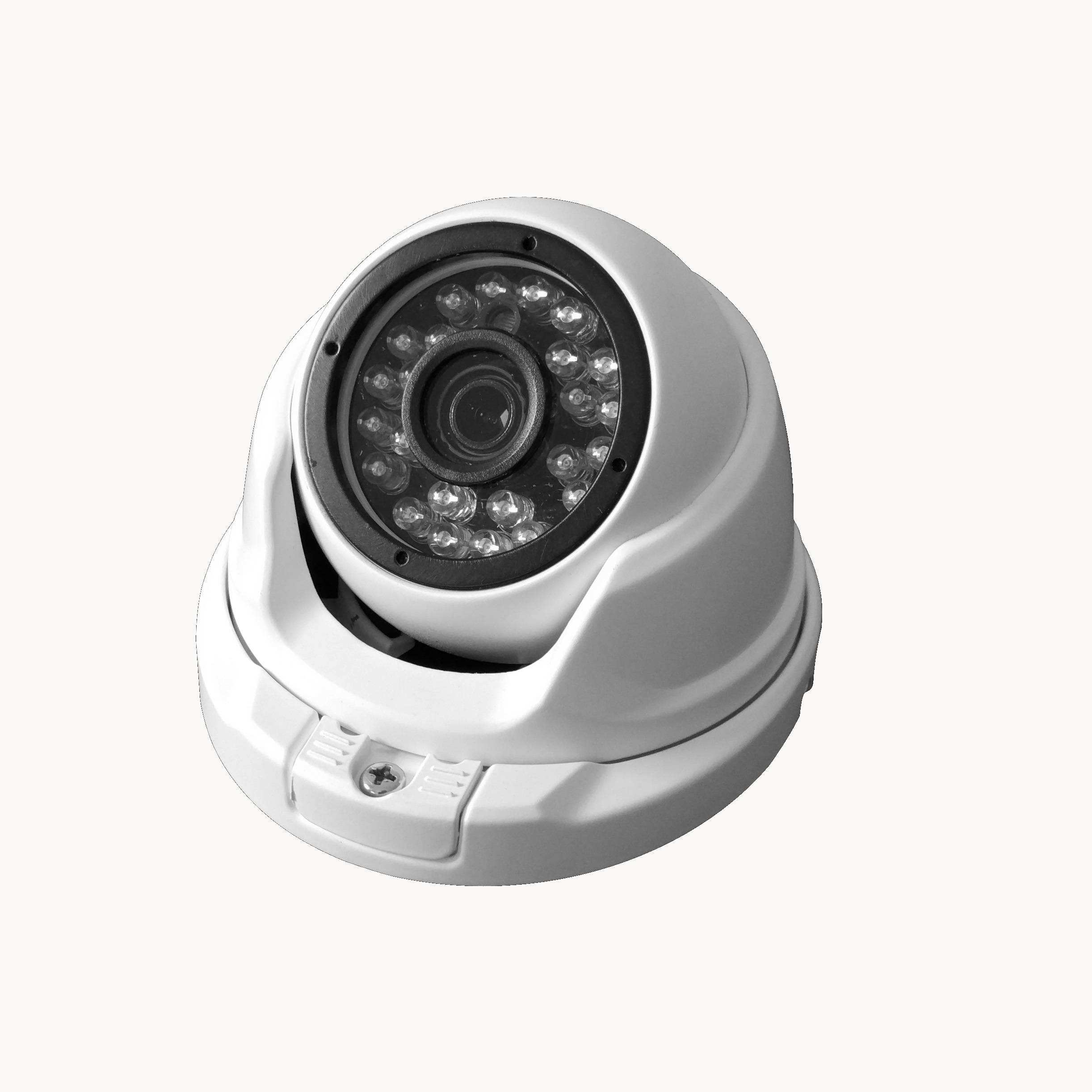 1080p outdoor 2MP black light Bullet security cameras