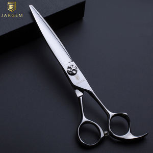 Professional barber red coated scissors cut shears hair scissors hairdressing scissors unique design