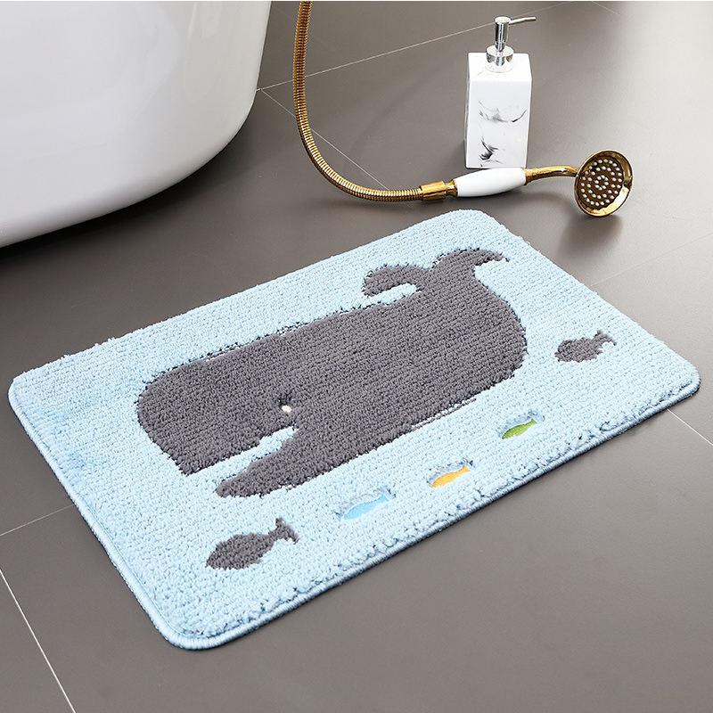 Venta al por mayor precio barato de alta calidad listo suave lindo bordado antideslizante alfombra de baño para <span class=keywords><strong>casa</strong></span> Hotel