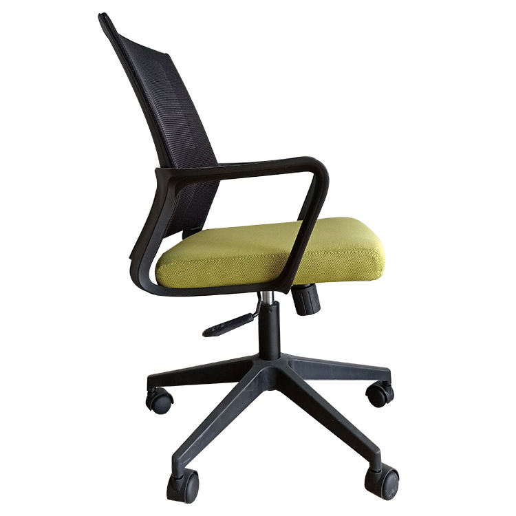 Modern Affordable Soft Pad 360 Degree Rotating Caster Mesh Ergonomic Office Chair Computer Task Chair