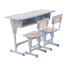 china suppliers wooden classroom table and chair for school student