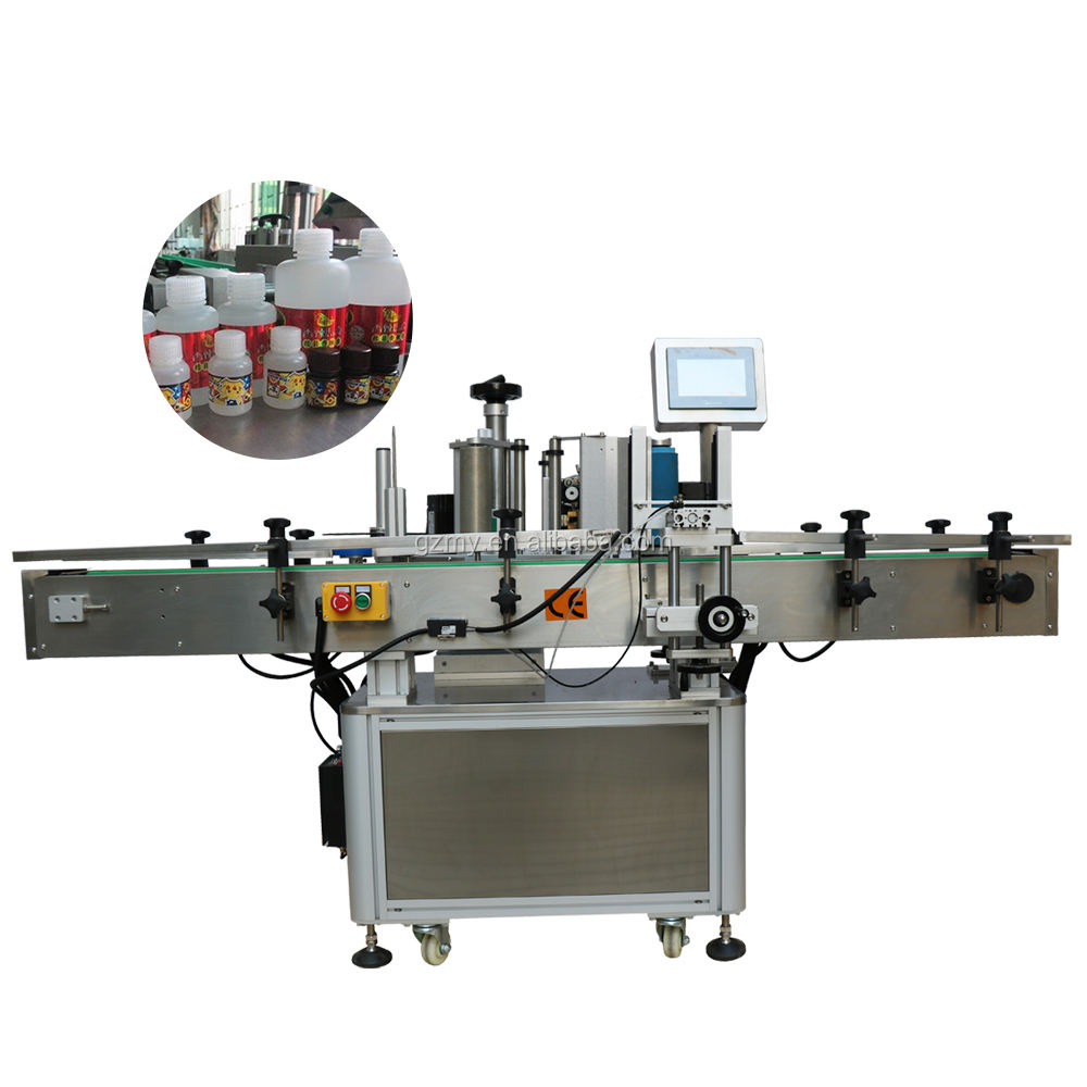 China Professional Manufacturer Nucleic Acid Test Tube Flat Bottle Labeling Machine