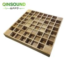 China cheap sound diffuser studio soundproofing tiles foam acoustic movable walls