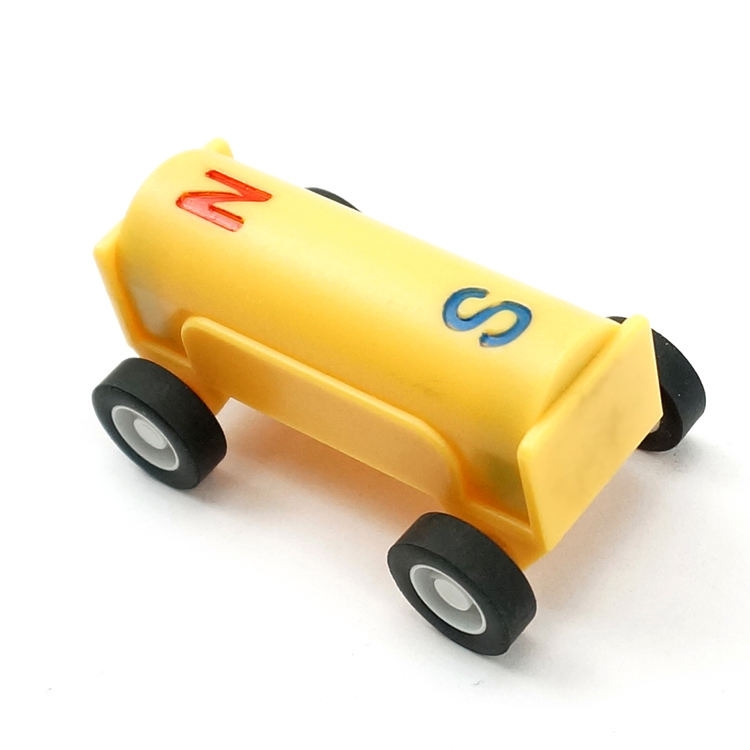 2020 New Product Eco Friendly Color Magnetic Car Toys, Stock Goods Plastic Educational Magnetic Car Toys For Kids