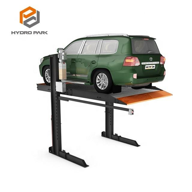 2 Post Parking Lift Vertical Car Storage Car Park Stacker for CE