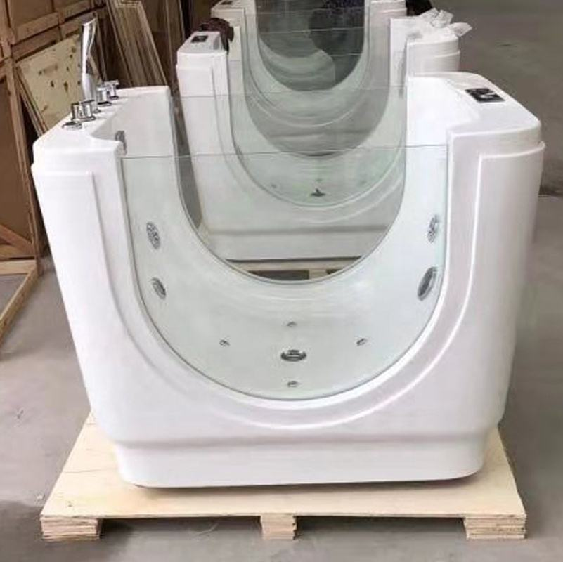 China Acrylic Thermostatic Whirlpool Massage Function Bathtub Baby Spa