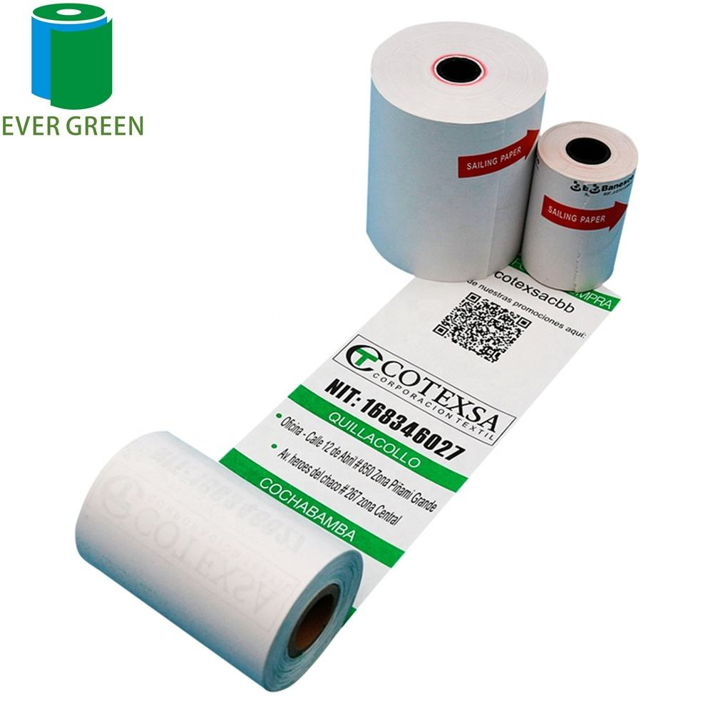 thermal paper roll for printing 80x80mm and 3-1/8 inch pos paper roll