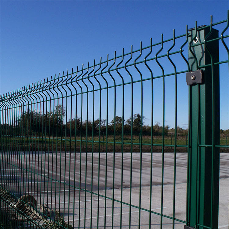 powder coated 5mm wire diameter 3D panel fence