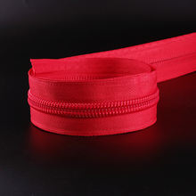 YUANXING China Custom Big Zippers Nylon 10 # Red Coded Zipper For Tent