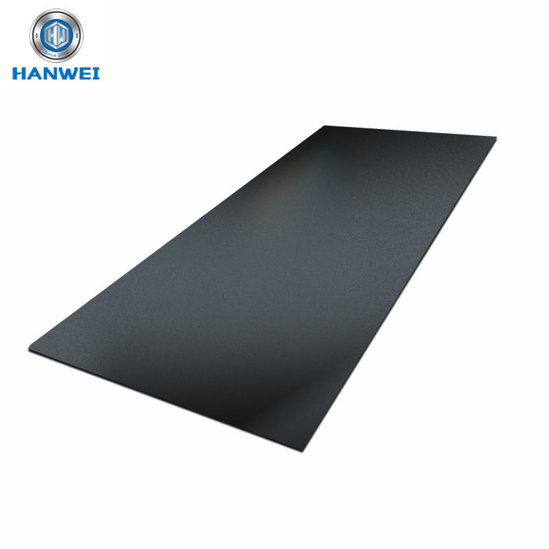 Black anodized aluminum sheets for LED Lamp