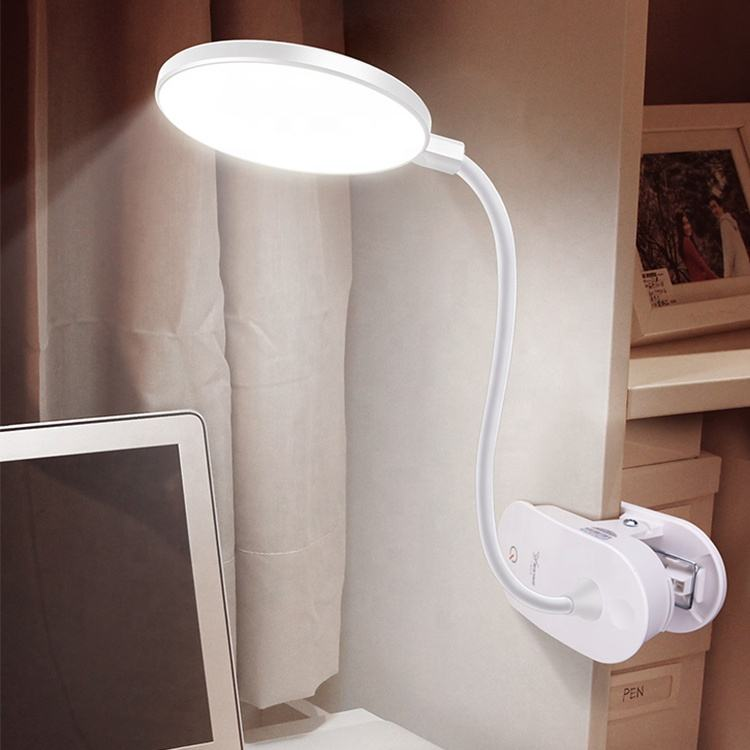 Amazon 2019 LED modern study rechargeable bed side table lamp for living room