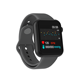V6 popular cool custom bluetooth Cheap smartwatch wholesale,Weather Forecast reloj inteligente square couple fitness smartwatch