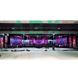 576x576 P3.98 low price Full Color SMD outdoor rental led screen billboard