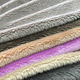 Plain Style 100% Polyester Brushed 4mm Pile Soft Minky Velboa Plush Fabric