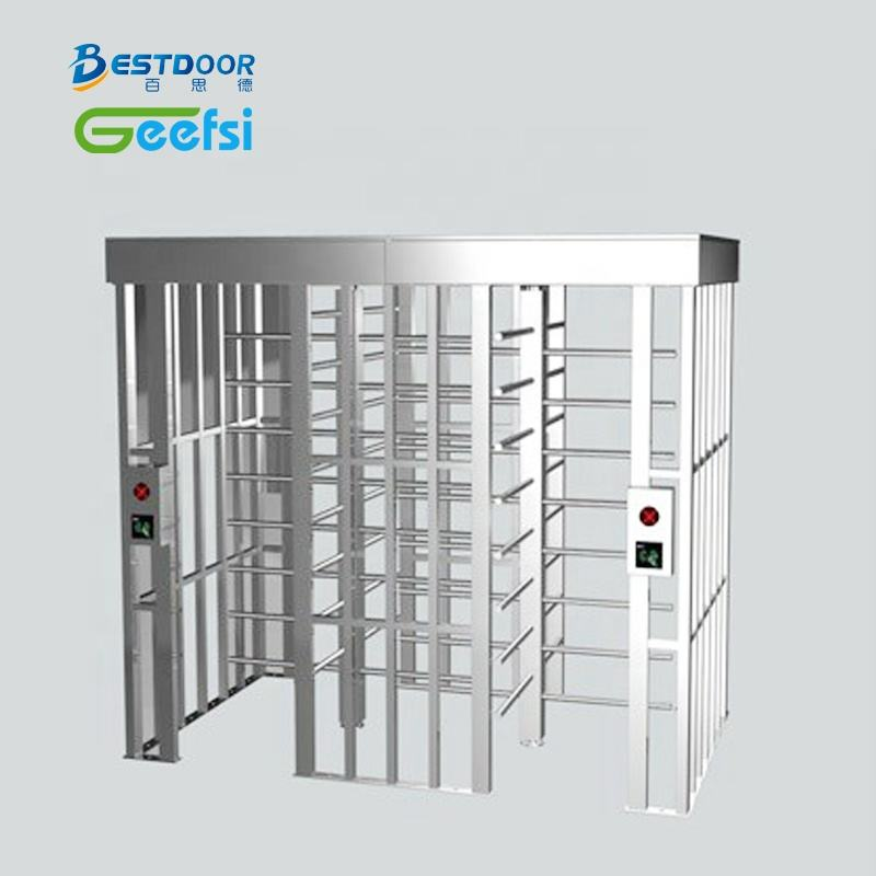 Good price High Security Access Control Full Height Turnstile Gate for Stadium