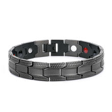 Healthy Titanium Magnetic Well Being Sport Bracelet