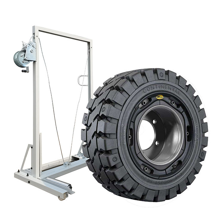TFAUTENF manual tire lifter for truck mobile lift/tyre changer/wheel balancer