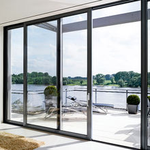 latest design patio aluminum glass sliding doors system philippines price