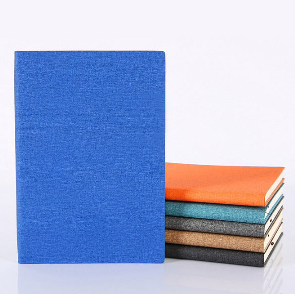 Quick Production - A5 various colors PU leather softcover custom notebook