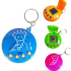 2019 Wholesale  Electronic Pet Machine with Cover Virtual Pet Puzzle Mini-Development Game Machine Toy