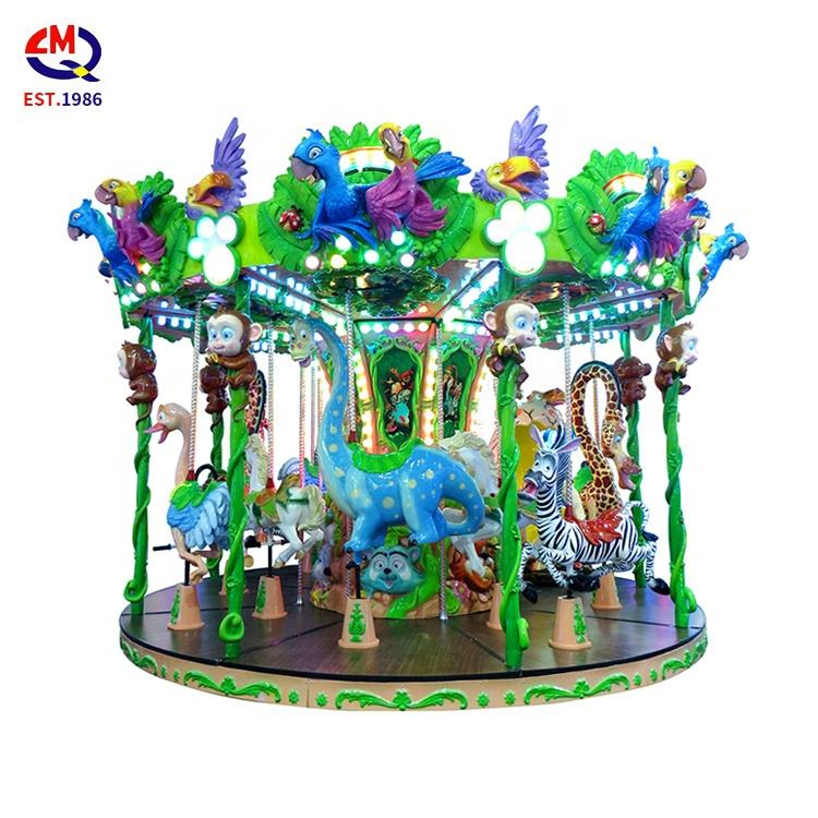 Fun park rides kids amusement equipment rides merry go round carousel for sale