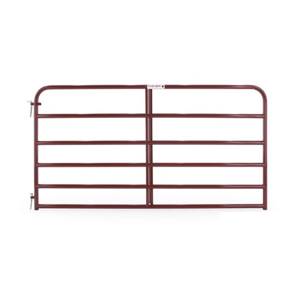 Security cattle and sheep galvanized 12 ft metal field gate