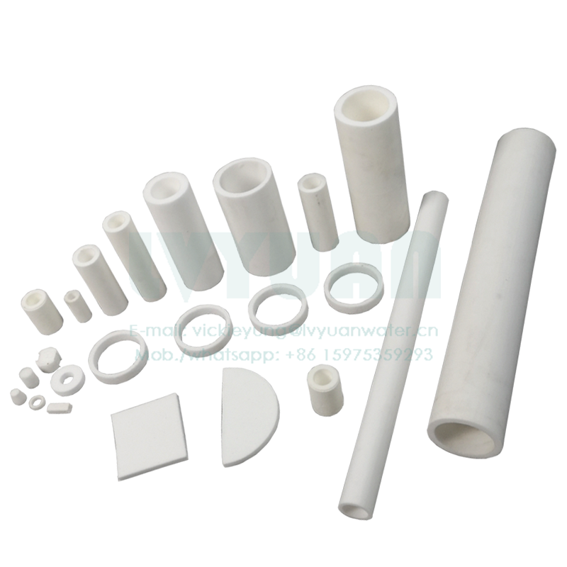 Hohe ultra polymer kunststoff PE PTFE PA PP pulver 20 microns gesinterte wasser patrone filter mit plissee/stange/ tablet design