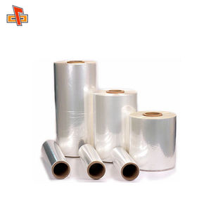plastic shrink film manufacturer cast PVC shrink film/transparent PVC shrink wrap film/blue pvc heat shrink film roll
