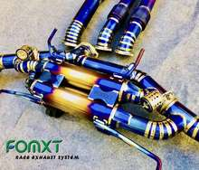 FOMXT NISSAN GTR R35 Exhaust System Auto High Quality Titanium Car Racing Exhaust Pipes System