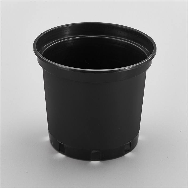 1 2 3 4 5 Gallon Plastic Pots 2.8L Black PS Gallon Nursery Flower Pot JA19 For Woody Plants